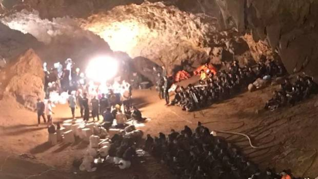 Australians rush to help rescue soccer team stuck in cave ...