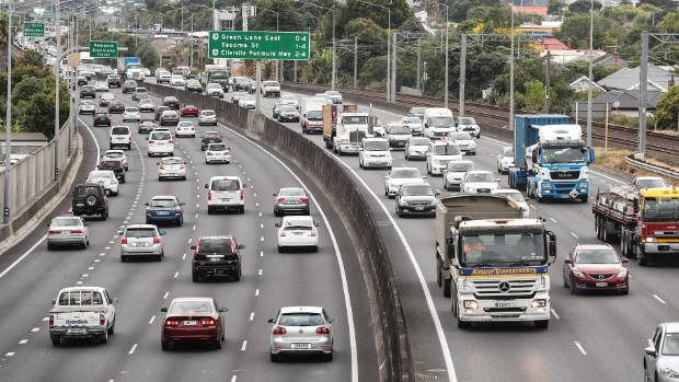 As vehicles crawl along Auckland's motorways, the movements are tracked via smartphones and GPS devices.
