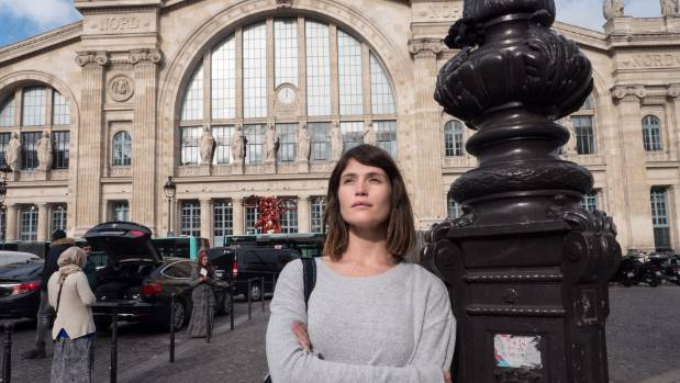 Gemma Arterton has admitted she got a little too into her role while filming The Escape in Paris.