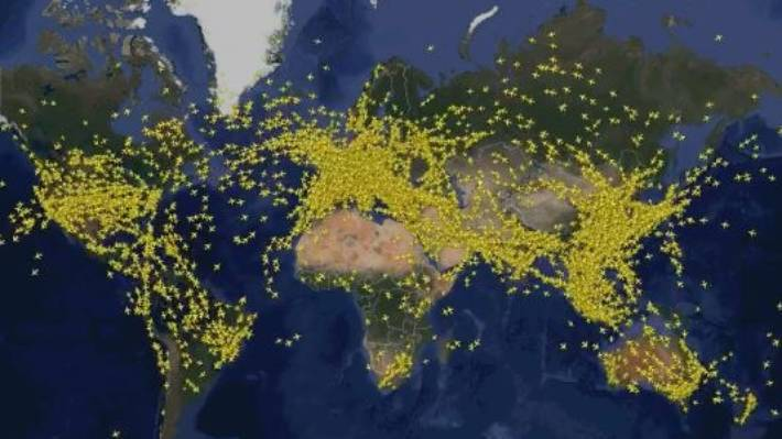 Air Travel Record Flight Tracker Monitors Busiest Day