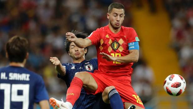France beat Belgium 1-0 to reach final