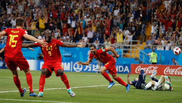 c67ac9c84416 Belgium beat Japan with desperate final strike at Fifa World Cup ...