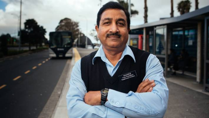 Vice president of the Auckland Tramways Union Manoj Kumar says driving for 5.5 hours without a break is too long and fatigue is a safety hazard.