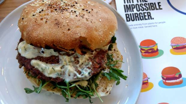 National MP slams Air NZ's offer of meat-free burger