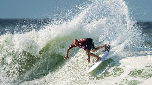 Kelly Slater is an 11-times world champion (file photo).