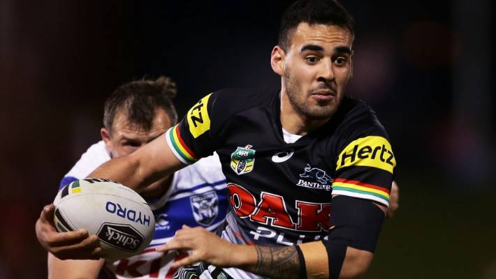 Penrith Panthers' Tyrone May charged over sex tapes