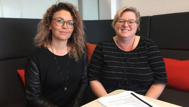 Lawyers, Fiona Nicholson, left, and Karen Venables, discuss &#91;...&#93; </p> <p><strong>Continue reading this article at the original source from <a href=
