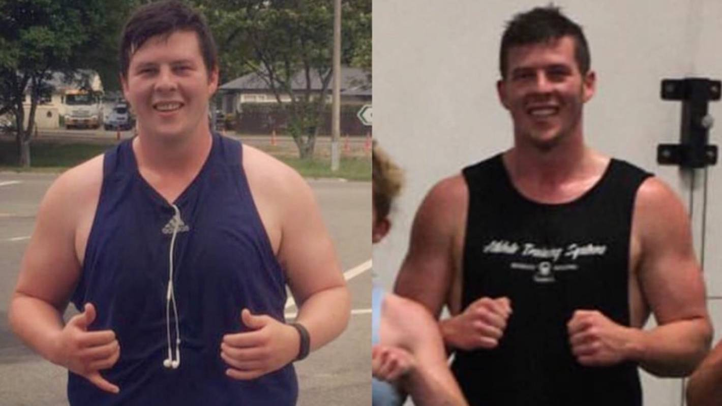 Fat to fit: Christchurch man's body transformation | Stuff ...