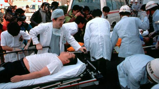 Japan executes doomsday cult leader and six followers for 1995 subway attack