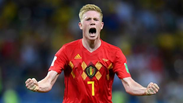 Kevin De Bruyne is the best ginger in world football