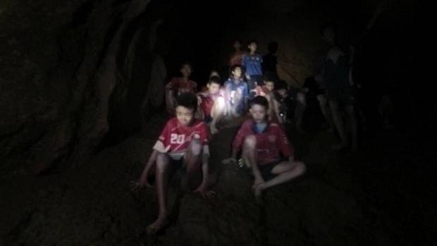 Elon Musk is in the Thai cave where children are being rescued
