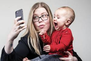 Felicity Farrell and her 8 month old baby, Jackson, photographed at their home in West Auckland. Felicity was able to ...