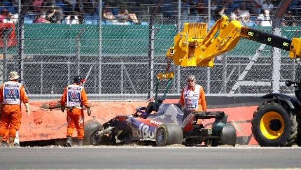 Brendon Hartley crash mars final British Grand Prix practice