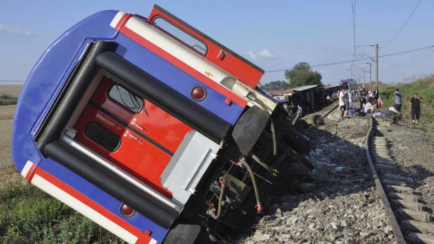 Turkey: Train derailment kills at least 10, injures 73