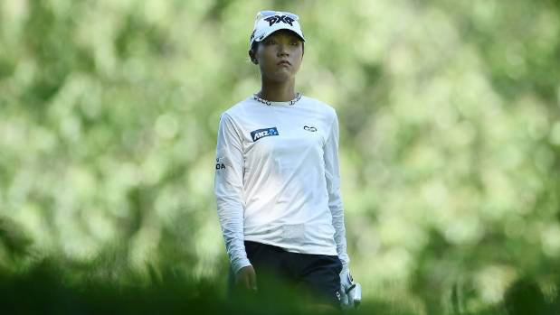 Lydia Ko struggled for accuracy in the final round of the Thornberry Creek LPGA Classic