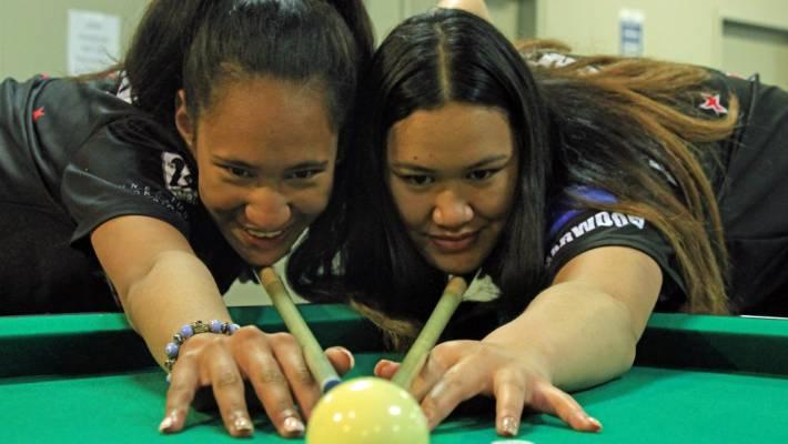 Pukekohe sisters win VNEA International Junior Pool