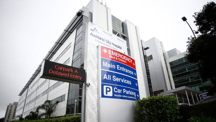 Auckland City Hospital is facing 'unprecedented' demand this winter, prompting DHB health officials to ask the public to instead visit their GP unless it's a genuine emergency.