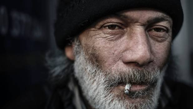 Former rough sleeper Sole Johnstone, 62, spends more time on the streets than he does at home.