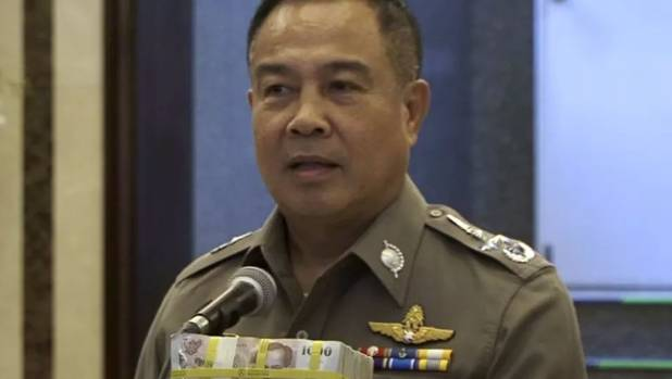 Somyot Poompanmoung now head of the Football Association of Thailand offered a reward $120,000 reward for information