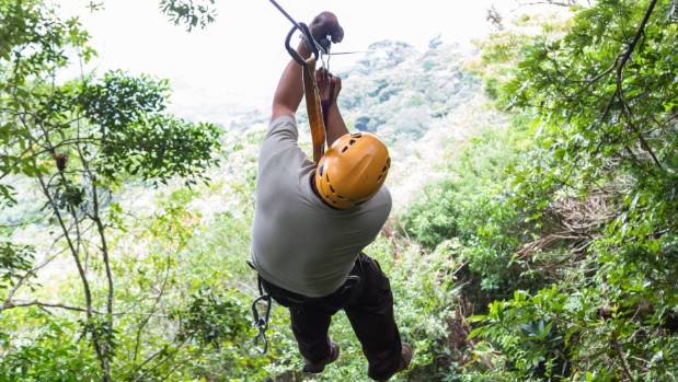 Tourists on honeymoon collide while zip-lining, husband dead
