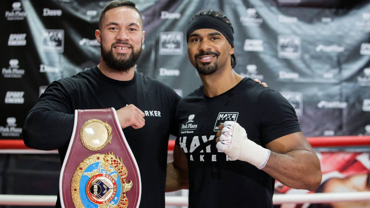 Dereck Chisora's manager David Haye says 'everybody wants' Joseph Parker fight