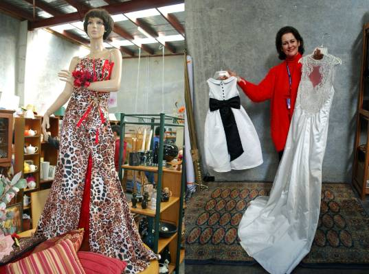 Dozens Of Gowns Donated To Lower Hutt Op Shop Just In Time For Ball