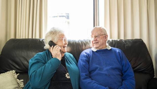 Cecilie And Graham Dyer Are No Longer Stressed About Answering Their Phone.