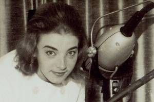 Anne-Marie de Spa showcases the vaporiser and skin massage machines she had brought back with her from Belgium in 1964 ...