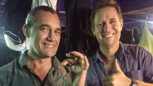 British divers not heroes, just relieved, after rescue