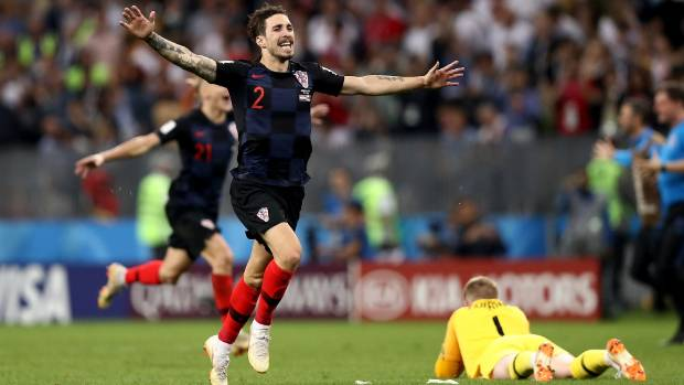 Croatia rallies past England to reach World Cup final