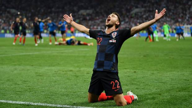 Croatia beats England to qualify for their first World Cup final
