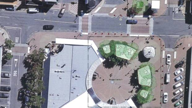 The upgrade to Market Place will include new lighting, grass pods, new power facilities and phone charging stations.