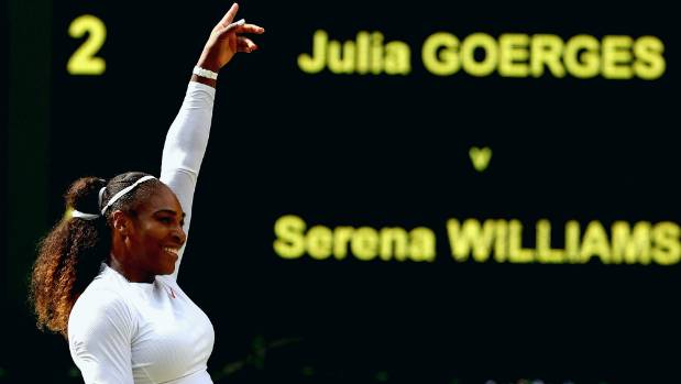 JUST IN: Serena Williams into her 10th Wimbledon final