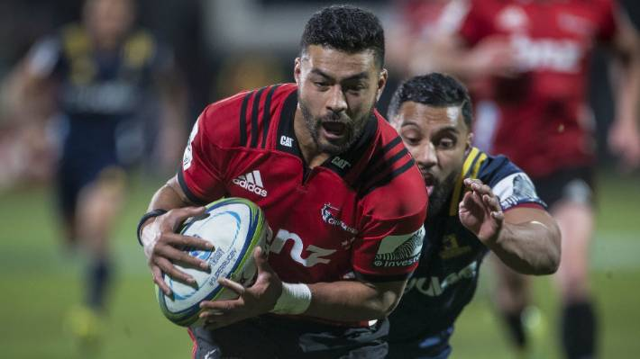 Richie Mo'unga like 'kid in the park' as Crusaders fire-up ...