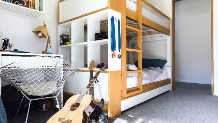 Make a tiny bedroom feel and work like a big bedroom ...