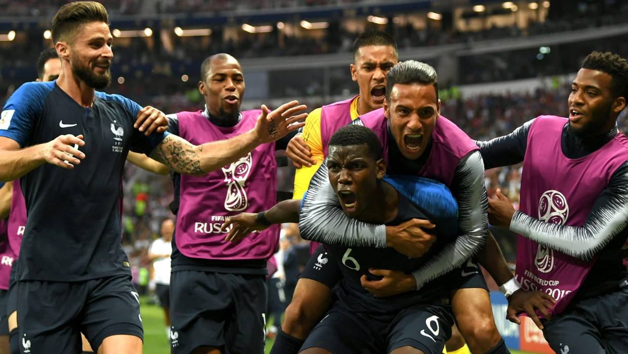 France defeat Croatia in goal-fest thriller Fifa World Cup final