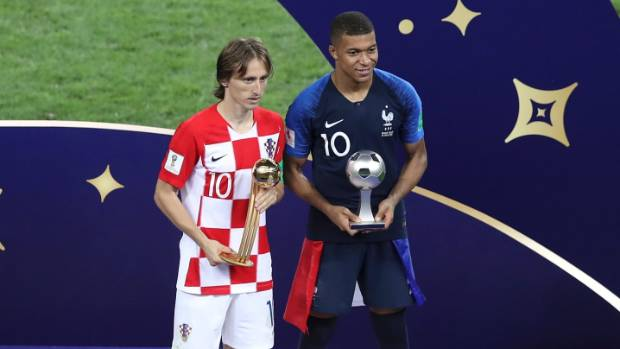 Modric, Mbappe, Ronaldo, Messi make Federation Internationale de Football Association  best shortlist