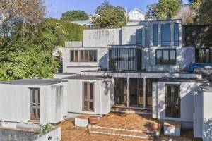 The 'Wong House' designed by late architect Claude Megson has been sold to a couple who have plans to renovate the house.