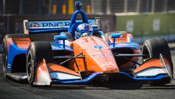 Indycar Champion Scott Dixon Finishes Strong At Grand Prix Of