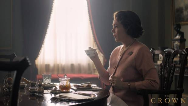 The Crown: First Look of Olivia Colman as the Queen unveiled
