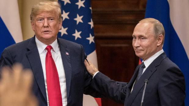 Trump's summit with Vladimir Putin in Helsinki continued to stoke concern among US lawmakers.
