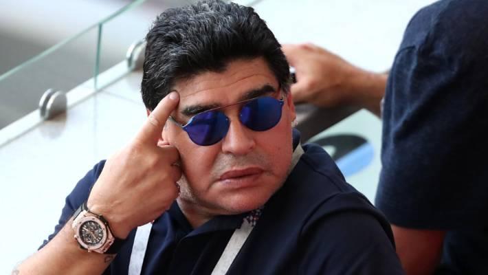 where is diego maradona now