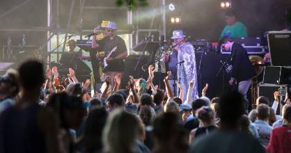 Fat Freddy's Drop have moved their Christchurch show from Horncastle Arena to Hagley Park.