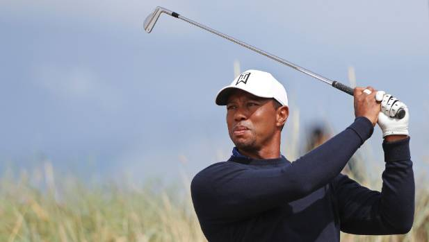 The Open: Tiger Woods off to a flyer at Carnoustie
