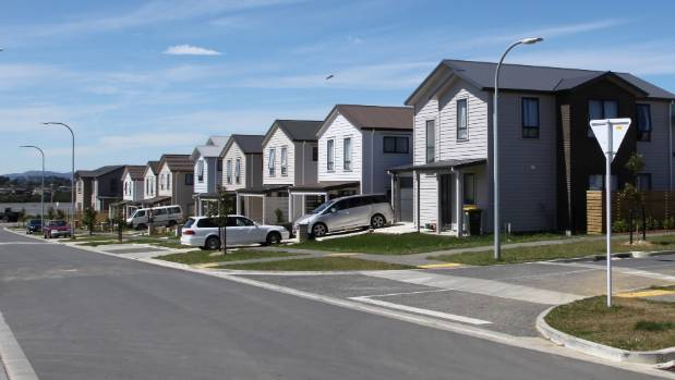 The Waimahia Inlet affordable housing development in Weymouth, south Auckland.