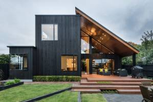 Glandovey Home by Cymon Allfrey of Cymon Allfrey Architects was a Joint Winner of the Residential New Home over 300m2 ...