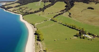 Hunter Valley Station - on the shores of Lakes Hawea and Wanaka - was sold to Matt Lauer in March 2017.