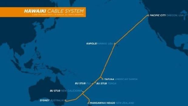 Hawaiki Cable is only the second fibre-optic cable laid across the Pacific to New Zealand, after Southern Cross.