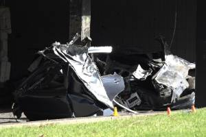 A senior police officer described the crash as one of the worst they'd seen in their career.