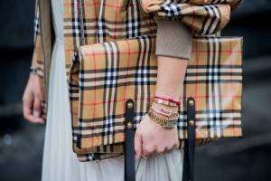 British heritage brand Burberry, famous for its signature check, is under fire for burning its stock.